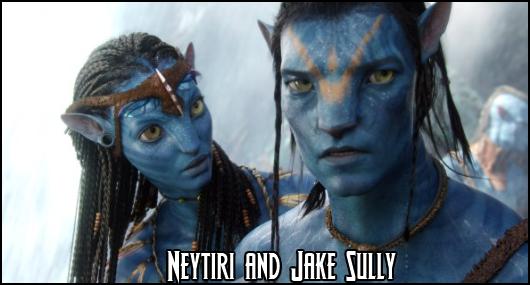 Jake Sully and Neytiri