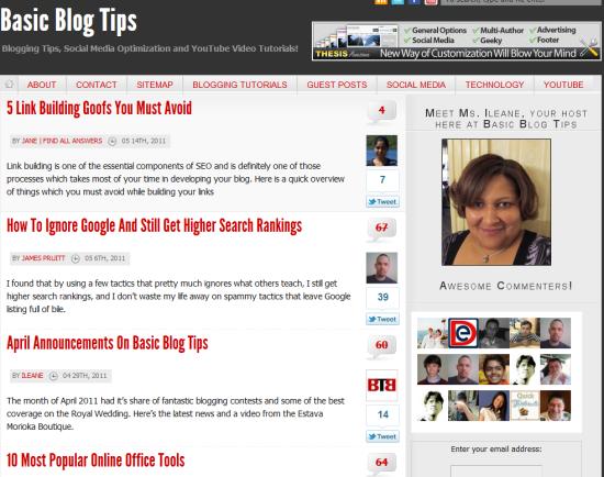 Basic Blog Tips