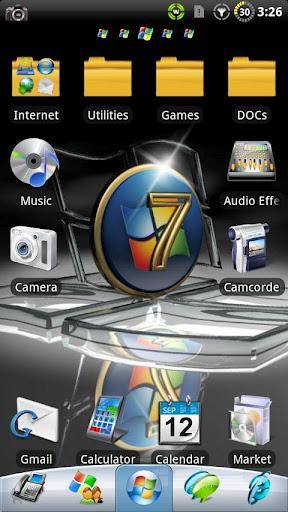 Windows 7-GO Launcher EX Themes
