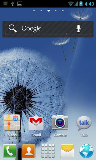 Galaxy S3-GO Launcher EX Theme