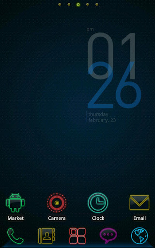 Colorful life-best Go Launcher Ex themes