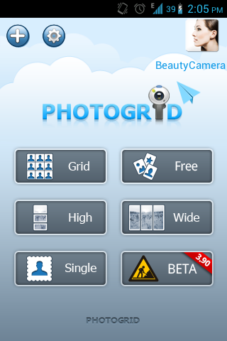 Photo Grid-Android photo apps