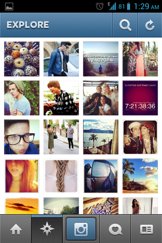 Instagram-Android photo apps