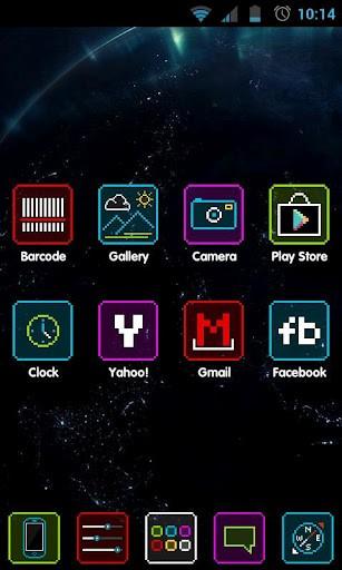Neon Apex Theme-Best Apex Launcher themes