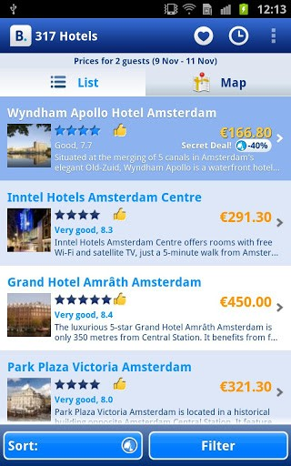 Booking-Android Hotel Apps