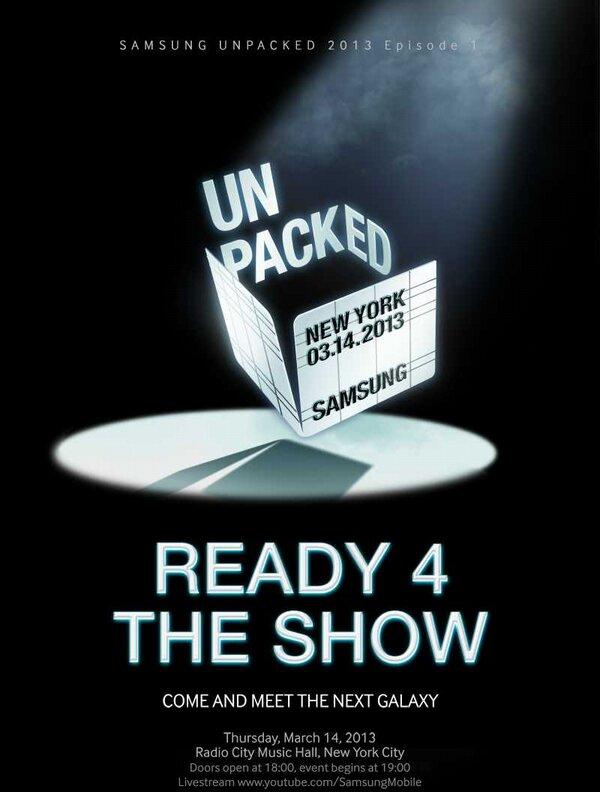 Samsung Galaxy S IV Invites