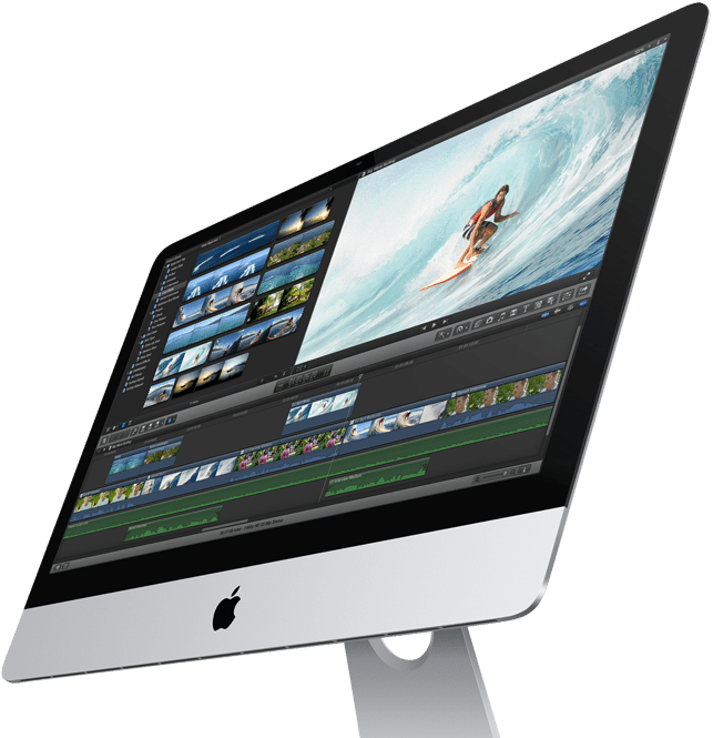 Thin Apple iMac