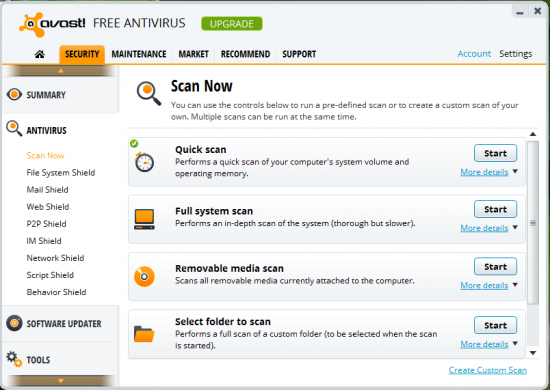 Scan Features