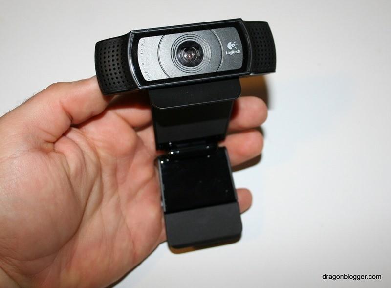 Logitech C920 Webcam Review Dragon Blogger Technology