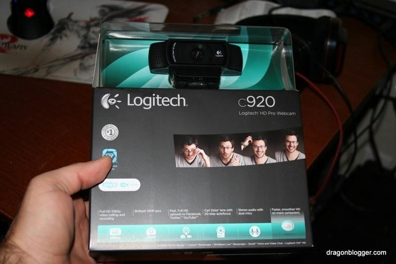 Logitech C920 in box