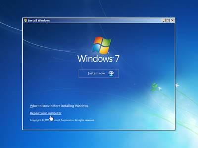 Windows 7 Repair