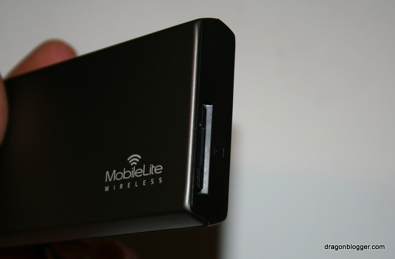 MobileLite Wireless SDCard Inserted