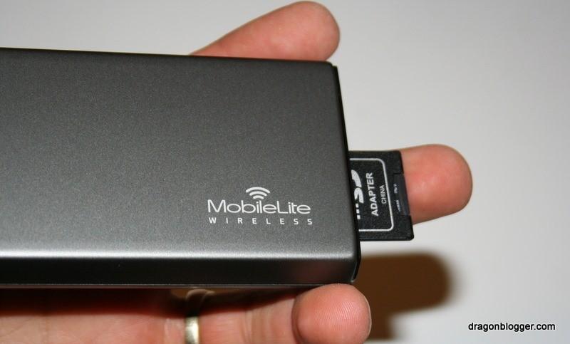 MobileLite Wireless SDCard Insert
