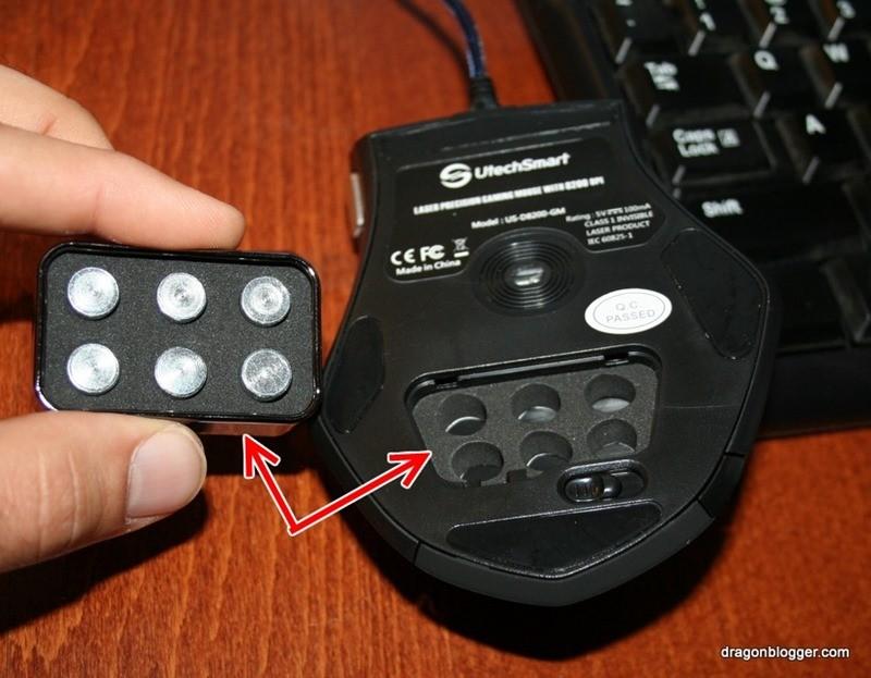 utechsmart laser gaming mouse 8200dpi (2)