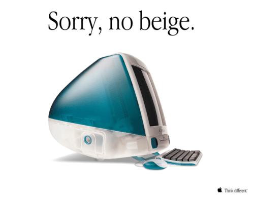 iMac ad