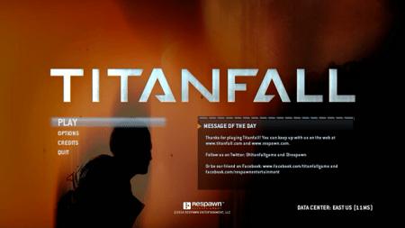Titan Fall Start