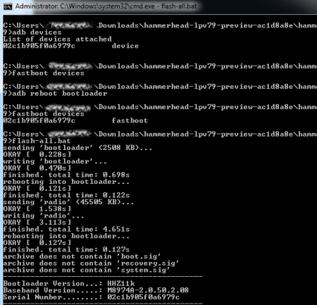 Nexus-Android-L-Command-Window