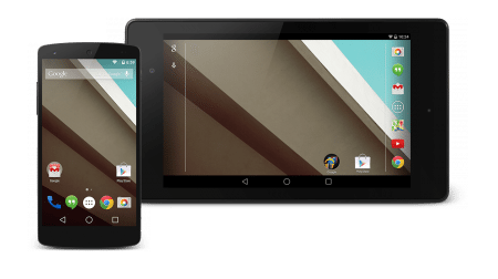 Android L on N5 and N7