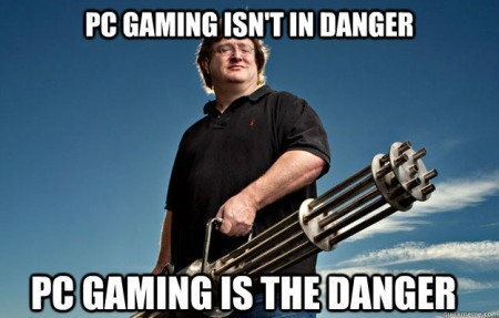 pc gaming isn't in danger