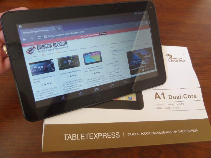 "Dragon Touch A1 Dual Core 10.1"" Tablet"