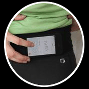 Complete control of touch devices without risk of dropping with the PROMESH pockets