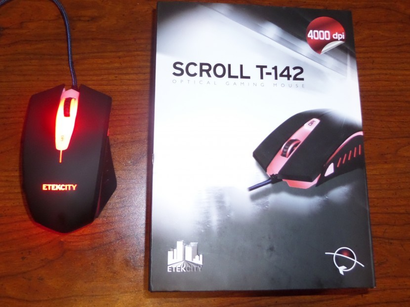 Etekcity Scroll T142 Optical Gaming Mouse