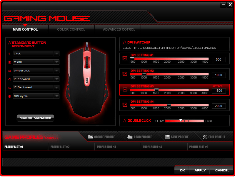 Etekcity Scroll T142 Mouse Options