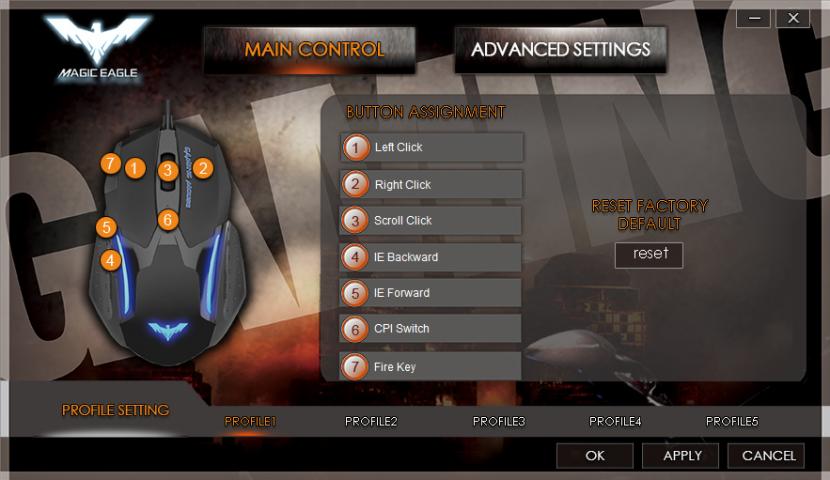 Havit Magic Eagle Gaming Mouse Config