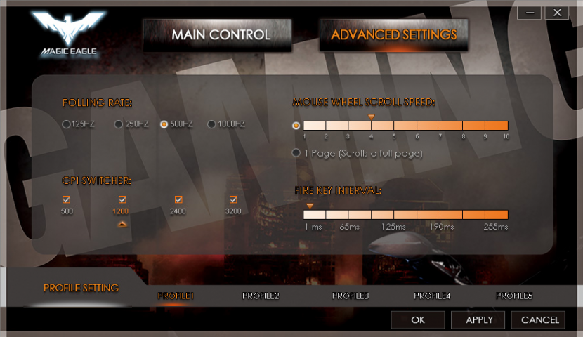 Havit Magic Eagle Gaming Mouse Advance Config