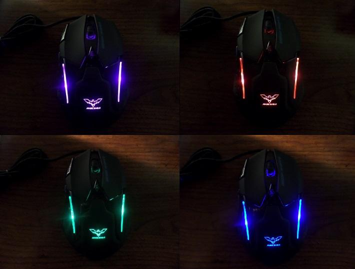 Havit Magic Eagle Gaming Mouse 4 Lights