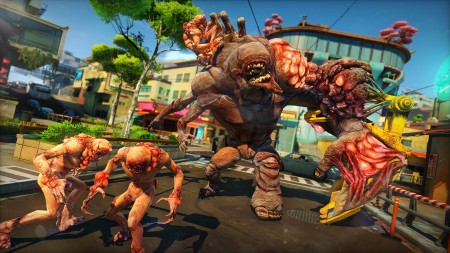 This is a Herker. One of the many OD you will be facing in Sunset Overdrive.