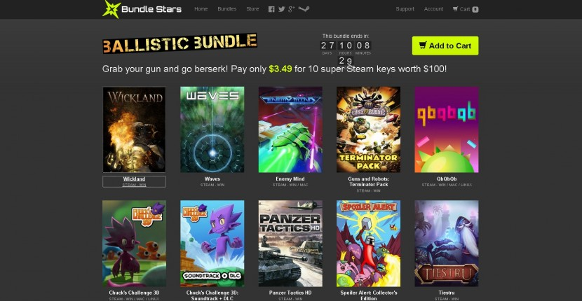 bundle stars ballistic bundle game deals