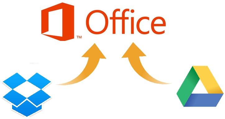 Office+Gdrive+Dropbox