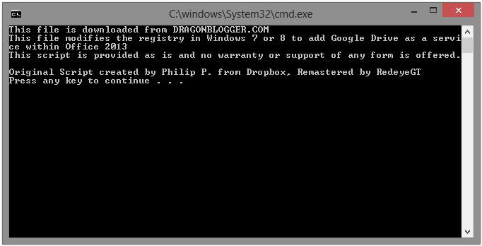 Gdrive_CMD