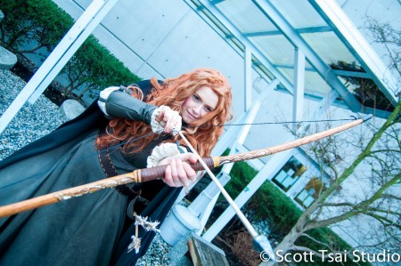 Disney's Brave - Merida Cosplay *COSPLAY CONTEST HONOURABLE MENTION* Crystalbelle Creations Photographer: Scott Tsai Studio