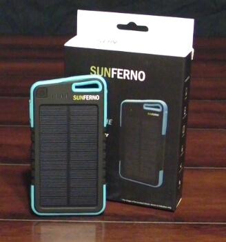 Sunferno Flintstone Solar Charger