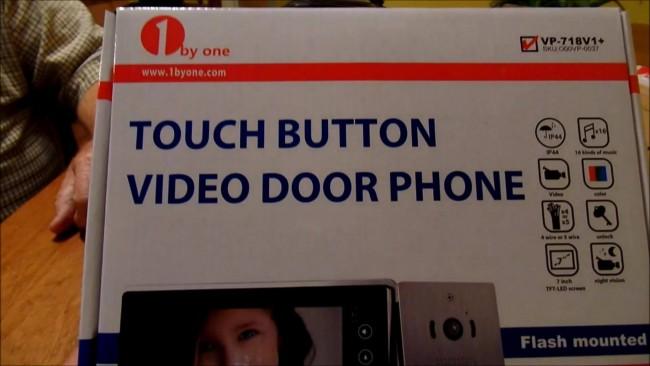 video door unbox 205