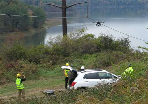 Drone Planes To Inspect Lines and Towers
