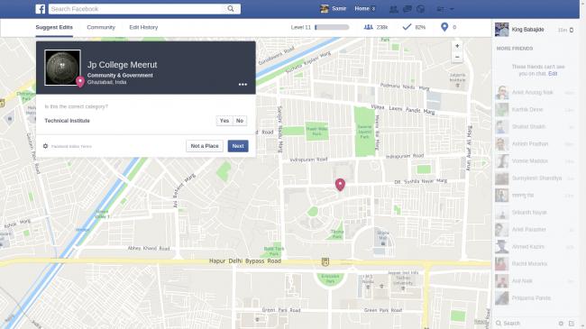 Facebook Editor Dashboard