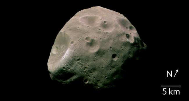 Mars moon Phobos cracking under pressure