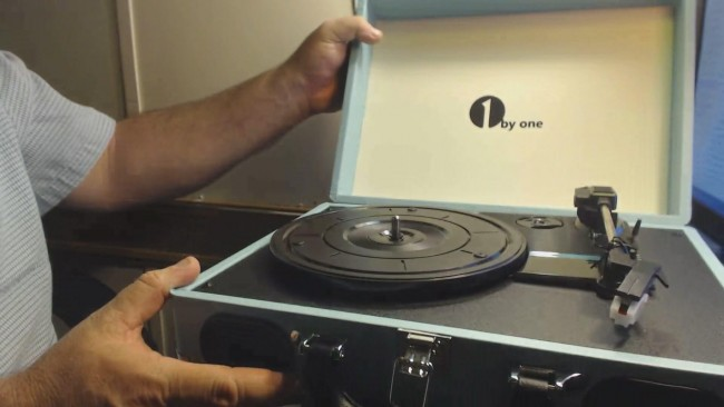 record player unbox 637