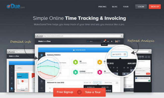Simple Online Time Tracking & Invoicing