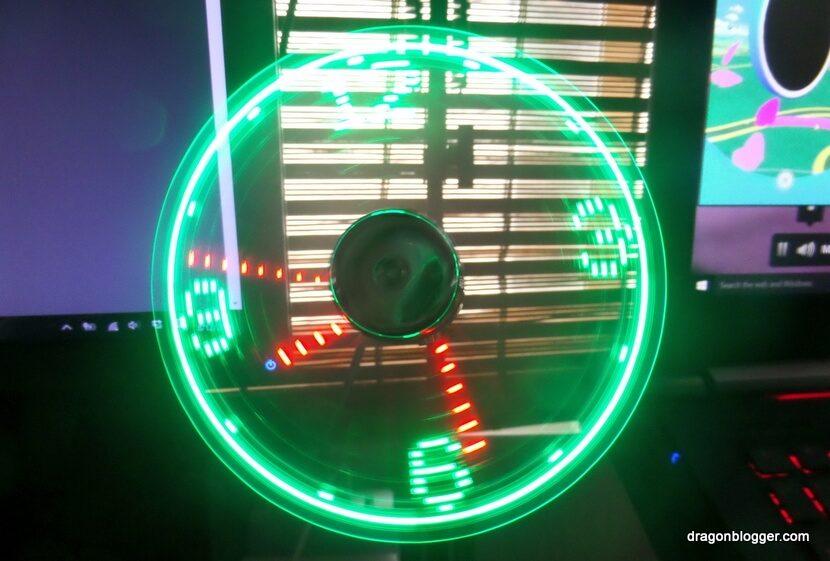 LED Clock Fan USB (8)