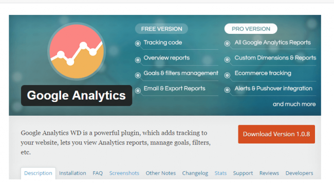 install-wordpress-google-analytics