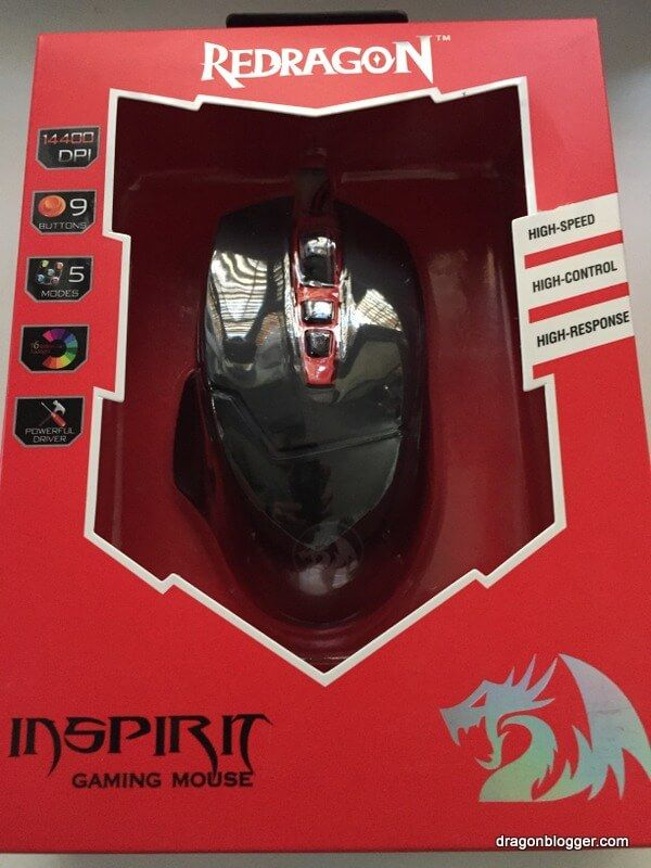 Redragon M907 Inspirit Gaming Mouse Review Dragon Blogger Technology