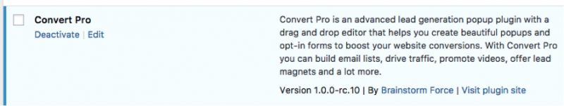 Install ConvertPro Step 5