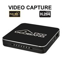 2017 Newest GooBang Doo HDVCB1 Mini 1080p HD Video Capture Box,