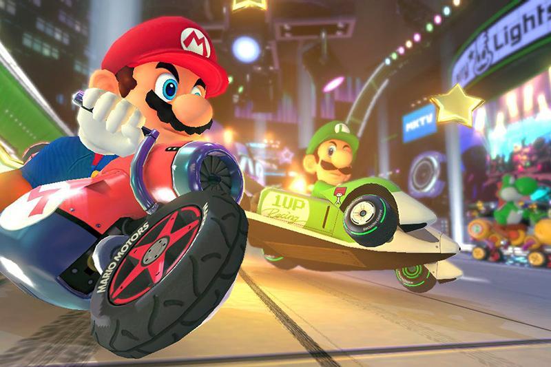Super Mario - Mario Kart 8 Deluxe