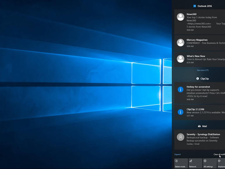 How to manage your notifications in Windows 10 - TechRepublic