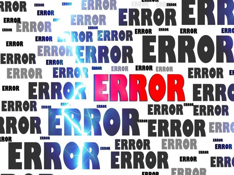 Error, Crash, Problem, Failure, Computer, False, Hoax